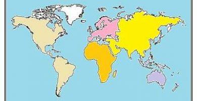caracteristicas de los continentes