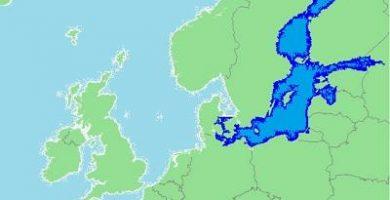 caracteristicas del mar baltico