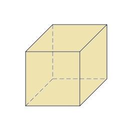 Cubo, prisma rectangular o cuboide