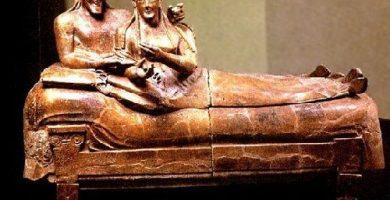 caracteristicas del arte etrusco