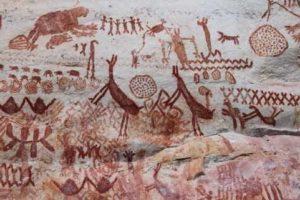 pintura-rupestre-del-cerro-azul
